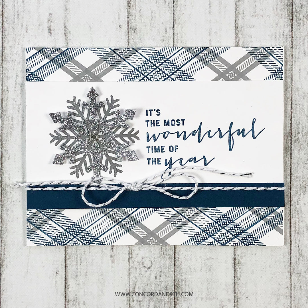 Snow Flurry Stamp Set