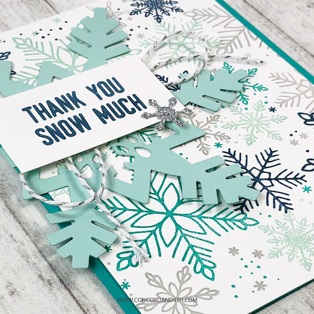 Snowflakes Turnabout™ Stamp Set