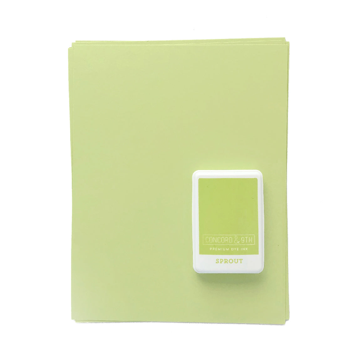 Sprout Ink Pad & Cardstock Bundle