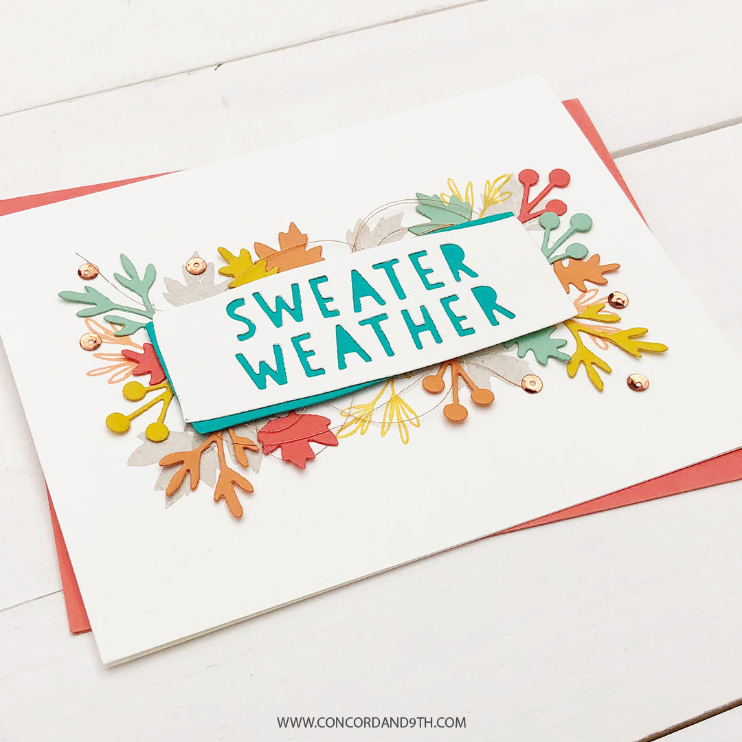 Sweater Weather Turnabout™ Stamp Set