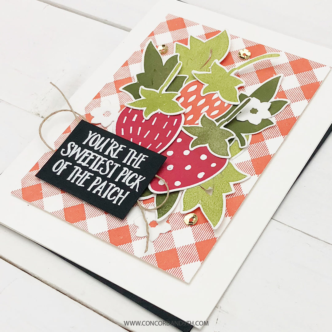 Sweet Strawberries Stamp Set