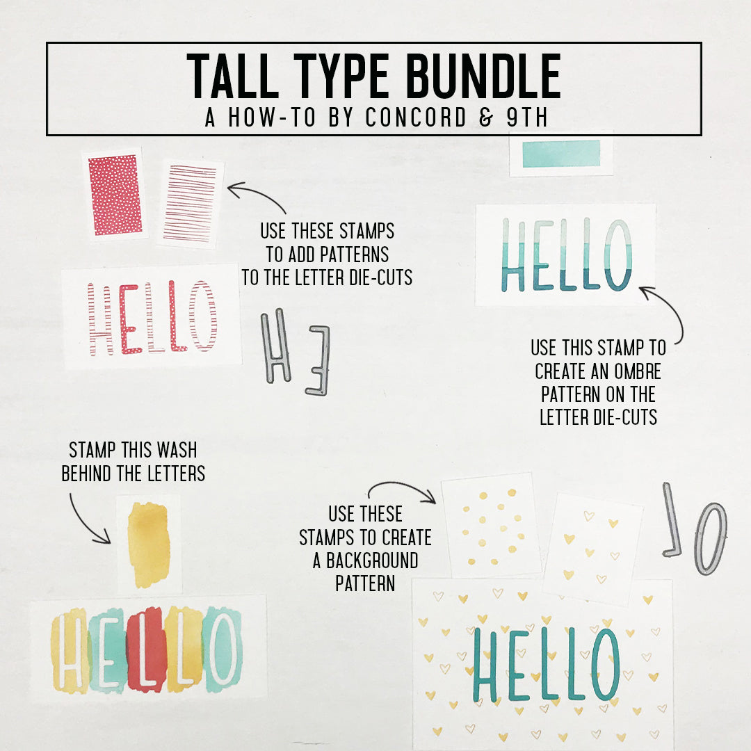 Tall Type Bundle