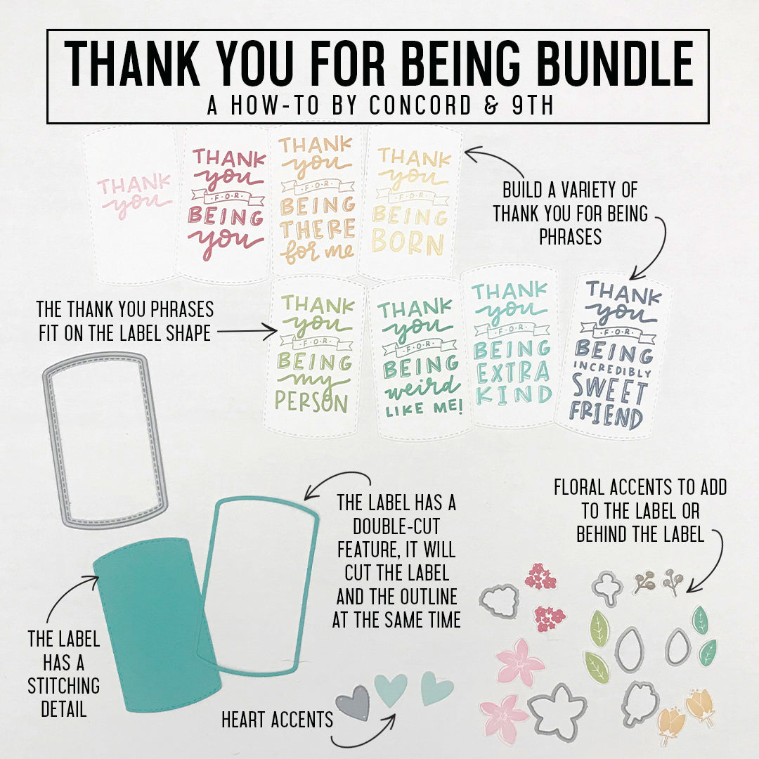 Thank You for Being Bundle
