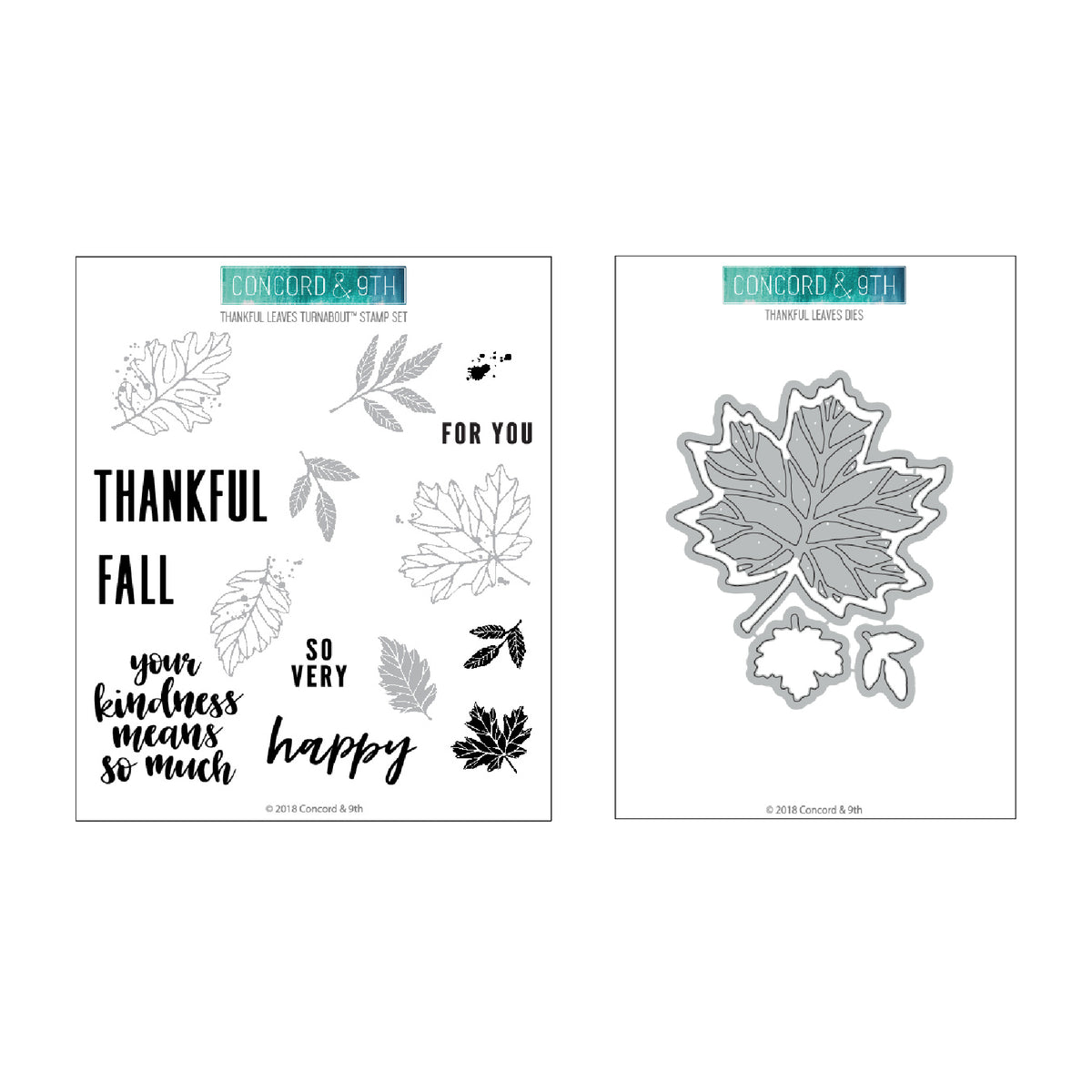 Thankful Leaves Bundle