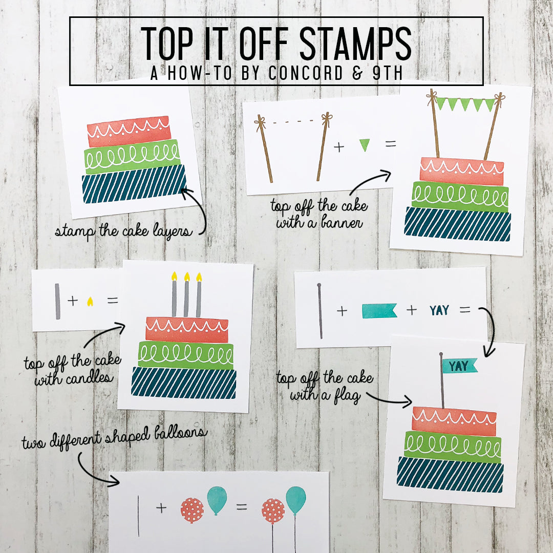 Top It Off Stamp Set