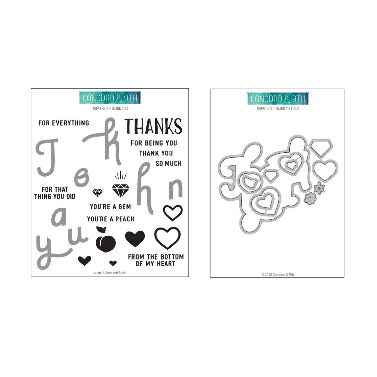 Triple-Step Thank You Bundle