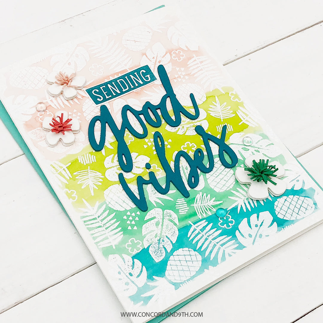 Tropical Vibes Turnabout™ Stamp Set