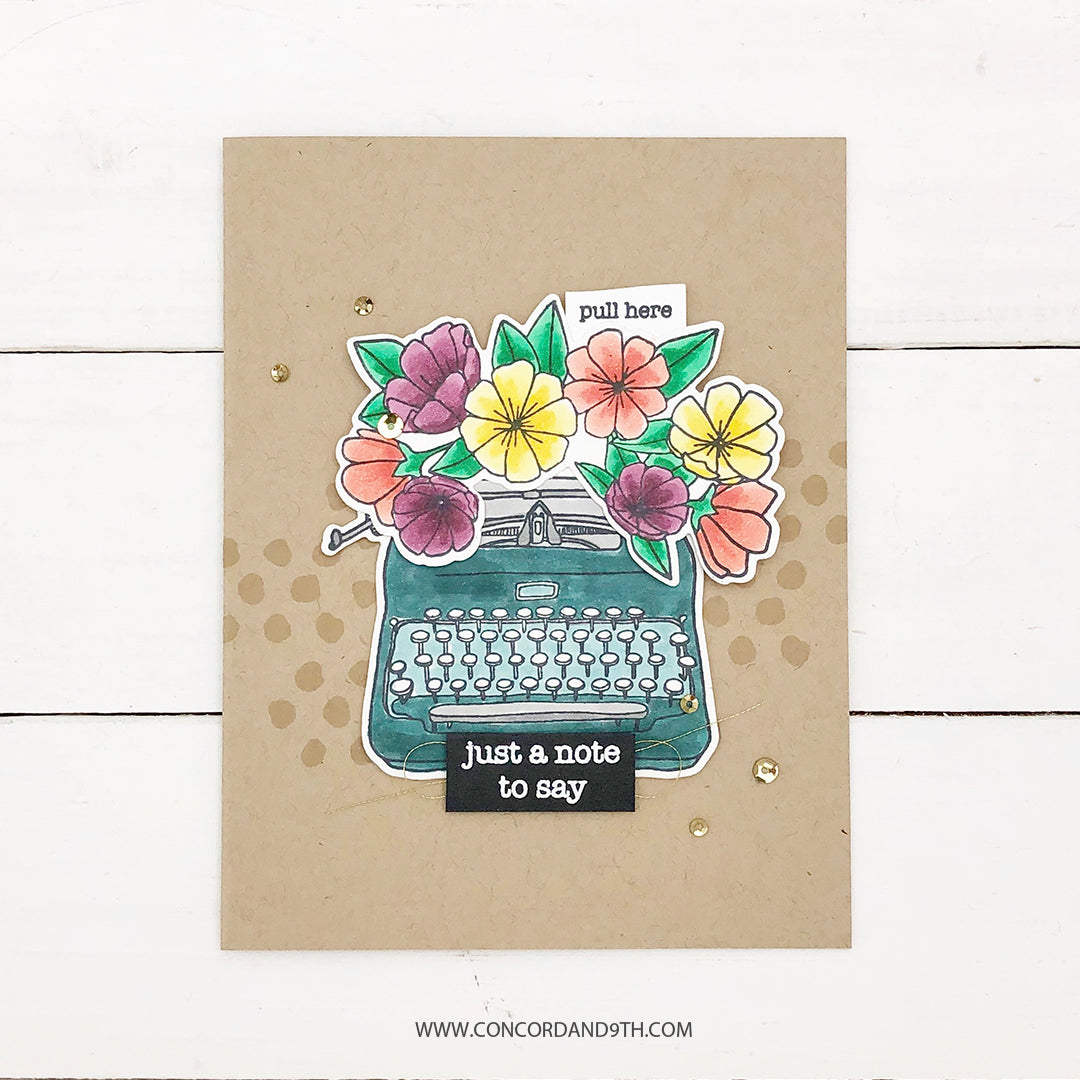Type Talk Stamp Set