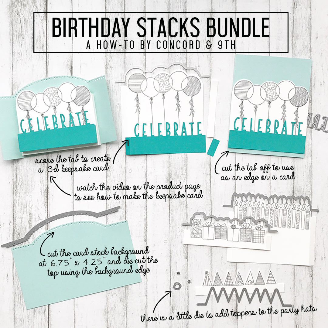 Birthday Stacks Bundle