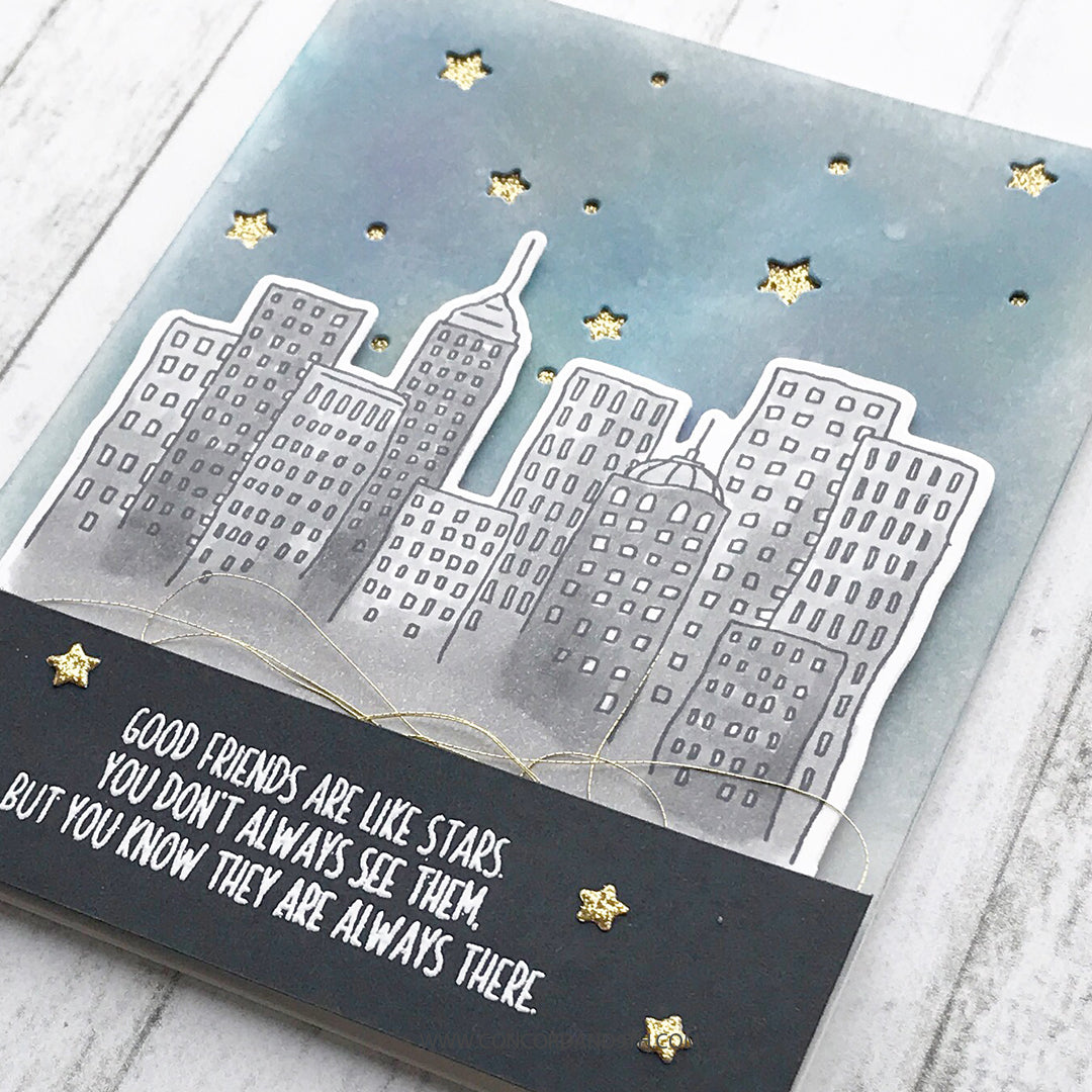 City Stacks Stamp Set
