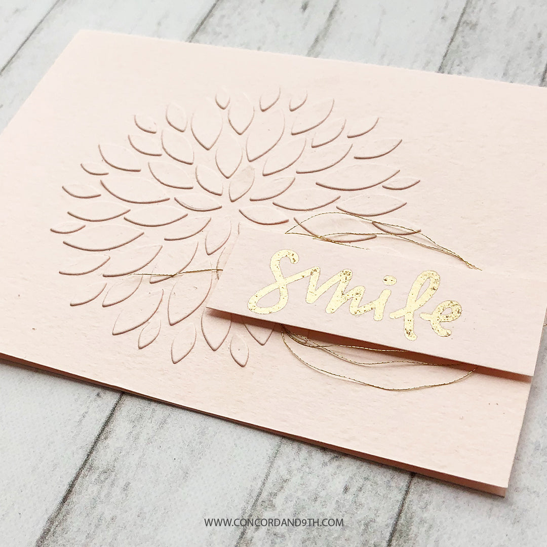 Dahlia Turnabout™ Stamp Set