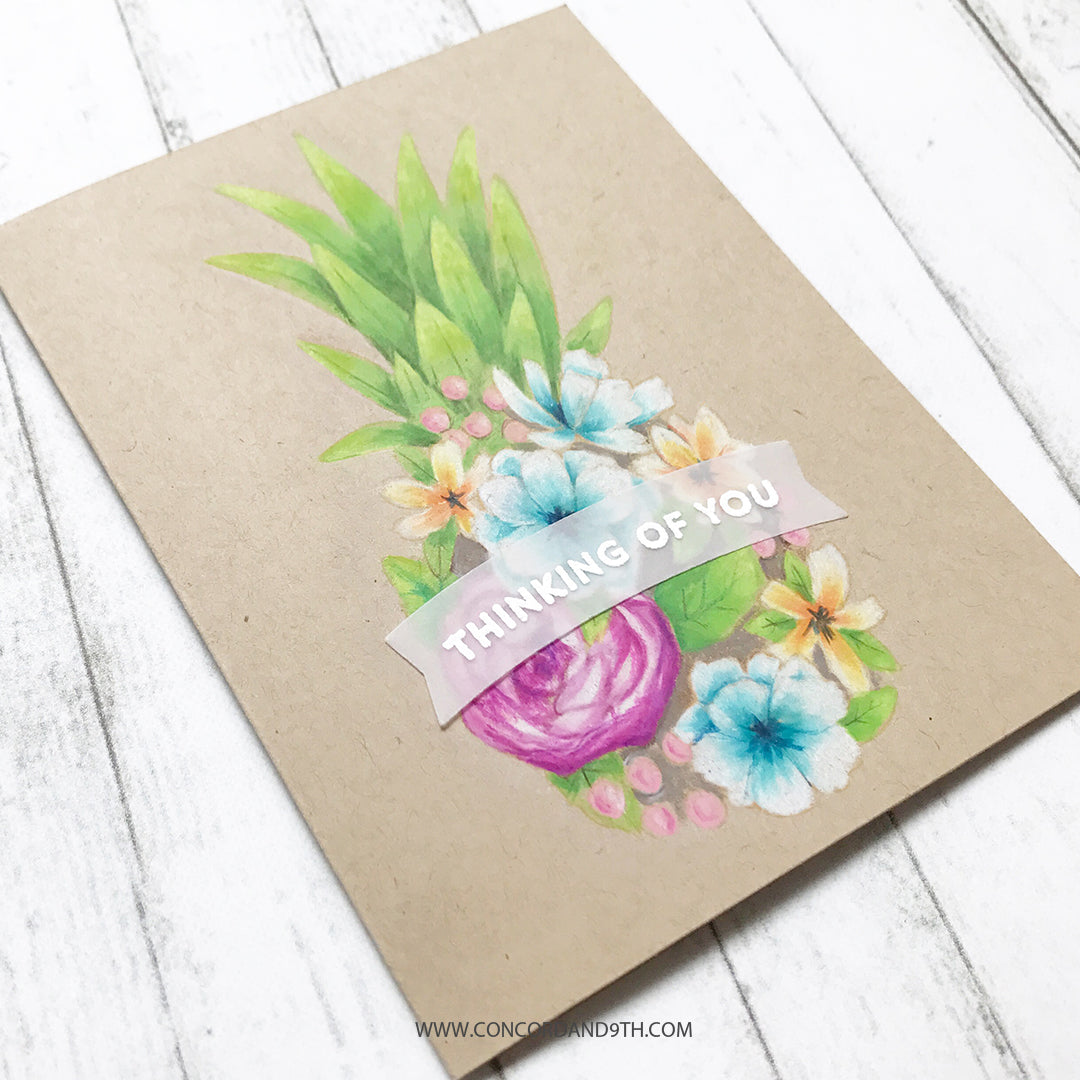 Pineapple Perfection Stamp Set