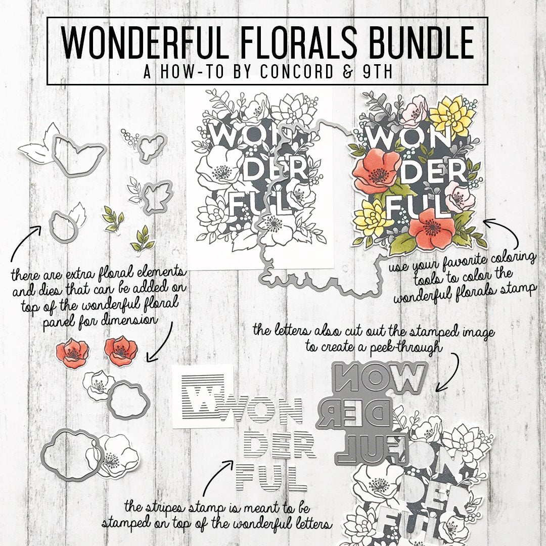 Wonderful Florals Bundle