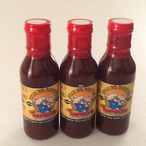 Hot BBQ Sauce 3 Pack