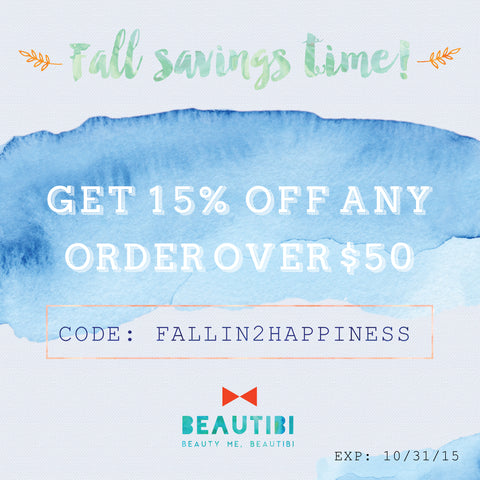 beautibi 15% off coupon