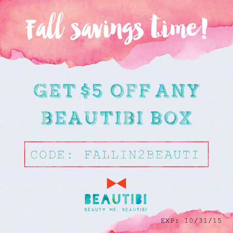 beautibi $5 off beautibi box coupon