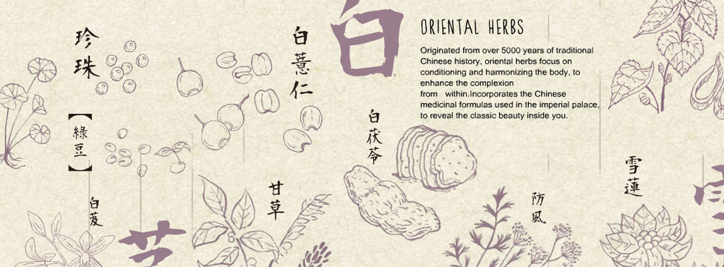 l'herboflore oriental herbs collection banner