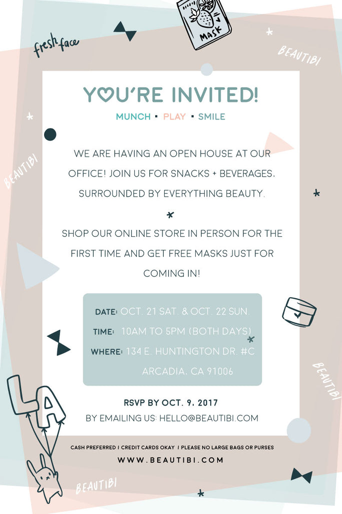 beautibi open house event