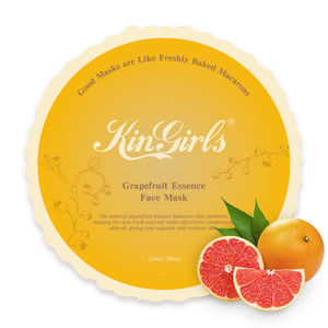 KinGirls Fresh Fruit Facial Mask Set