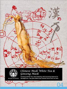 MasKingdom Chinese Medi White Tea & Ginseng Mask