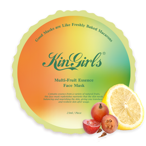 KinGirls Multi-fruit Extract Face Mask