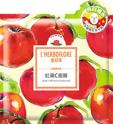 lherboflore apple c whitening mask