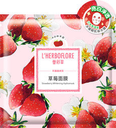 L'HERBOFLORE Strawberry Whitening Hydromask