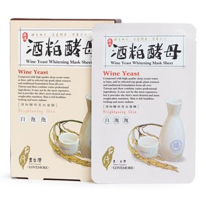 Lovemore Wine Yeast Whitening Mask Sheet
