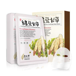 Lovemore Mung Beans and Licorice Purifying Mask Sheet