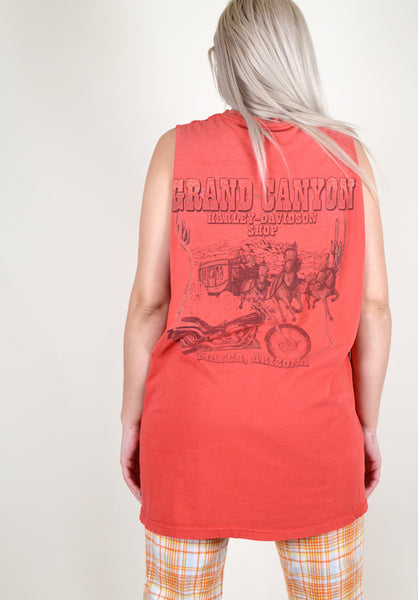 Harley Davidson Grand Canyon Red Tank