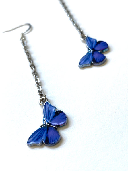 Handmade y2k Style Butterfly Earrings