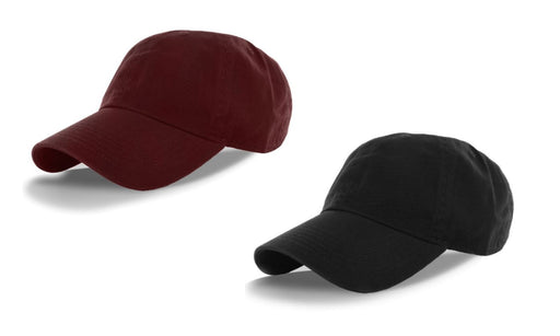 Classic Cotton Low Profile Polo Caps Mixed Doubles