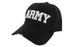 ARMY Ball Caps 3D Embrodiery Black - White