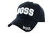 BOSS Ball Caps 3D Embrodiery Black - White