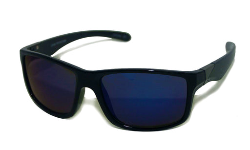 Online shop for Walter Designer Black Frame  Mirrored Polarized  Sunglasses