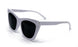 Blanca Bold High Pointed Horned Rimm Sunglasses 7684