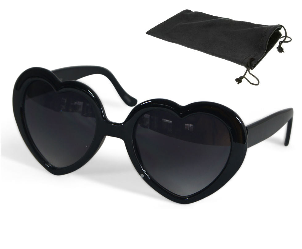Blanca Large Oversized Heart Shaped Sunglasses Fashion Eyewear