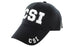 CSI Ball Caps 3D Embrodiery Black - White