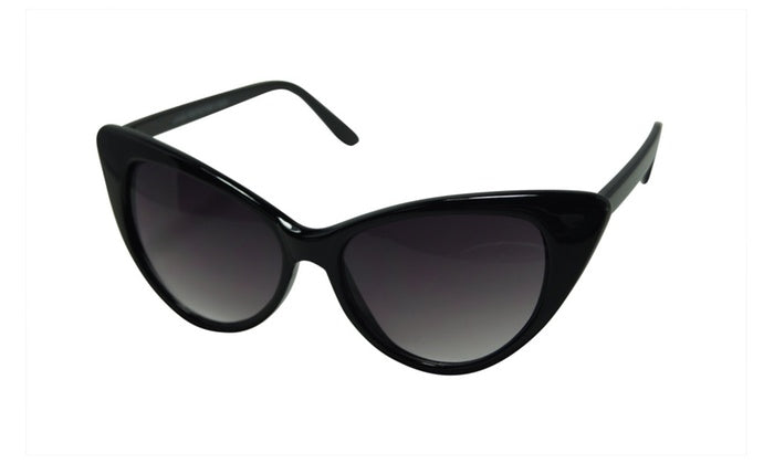 Blanca Women's Retro Oversized High Point Cat Eye Sunglasses 9498