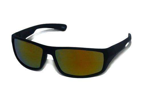 Online store for Mirrored Wrap  Colored Horn Rimmed Sunglasses in reddigits.com
