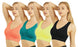Blanca Women's Seamless Sports Bra Light Weight (6Pack) BRO136SP3