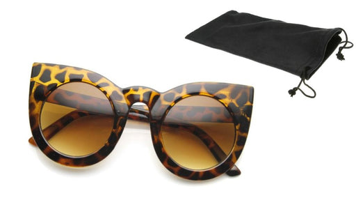 Online shopping for Round Pointed Cat Eye Sunglasses