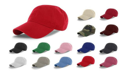 Low Profile Classic Cotton Polo Caps (2 Pack)