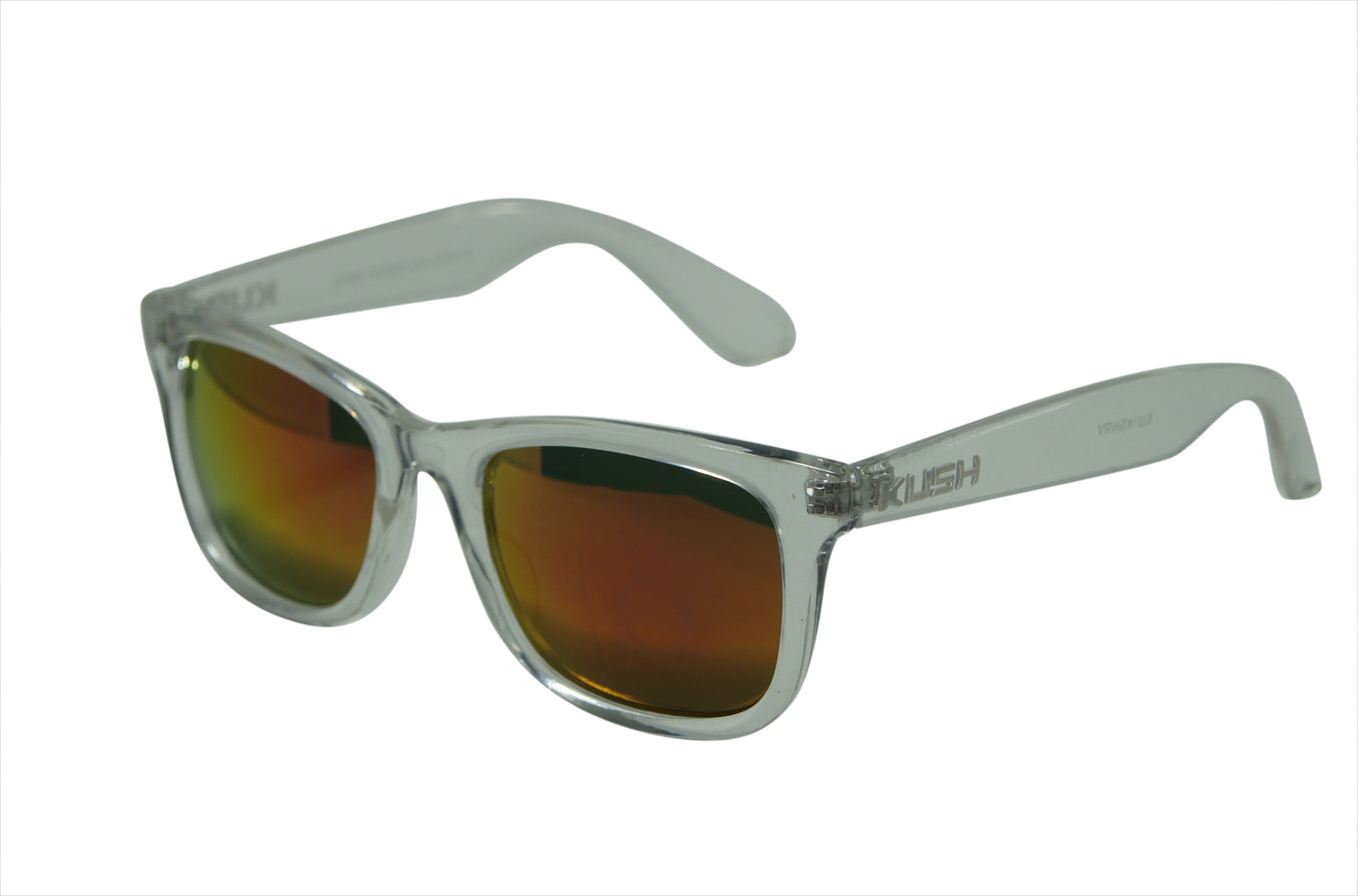 Walter Men's Horn Rimmed Beach Flash Color Mirror Lens Sunglasses 6321