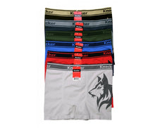Knocker's Men Athletic Seamless Boxer Briefs Alaskan Husky (6 Pack)