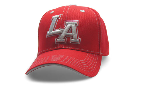 City Initals Los Angeles Red n White