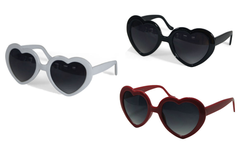 Heart Shaped Sunglasses Fashion Eyewear