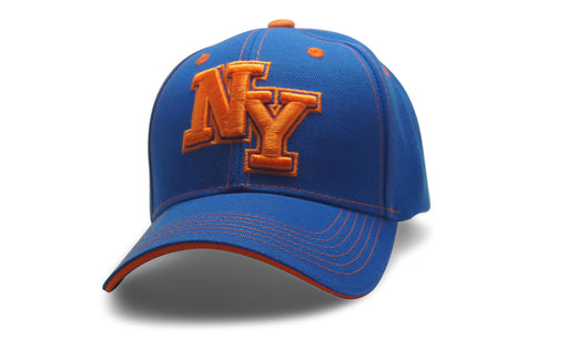 State Initals New York Blue n Orange