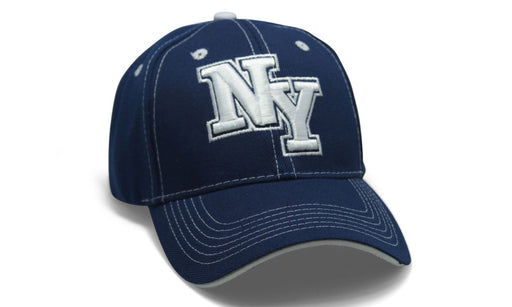 State Initals New York Navy n White