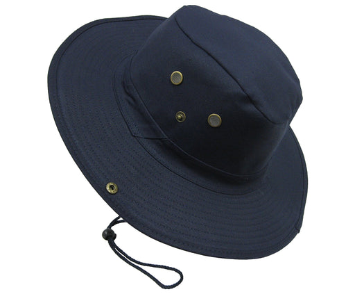 Boonie Bush Outdoor Fishing Hiking Hunting Boating Snap Brim Hat NAVY